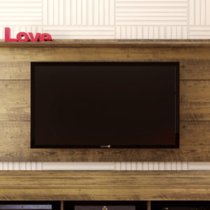 Panel o Mueble para Tv Slim Para Pantalla Hasta 55 Pino Ebani Colombia tienda online de decoración y mobiliario Bertolini