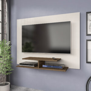 Panel o Mueble para Tv jet plus Off White con Almendra Ebani Colombia tienda online de decoración y mobiliario Bertolini