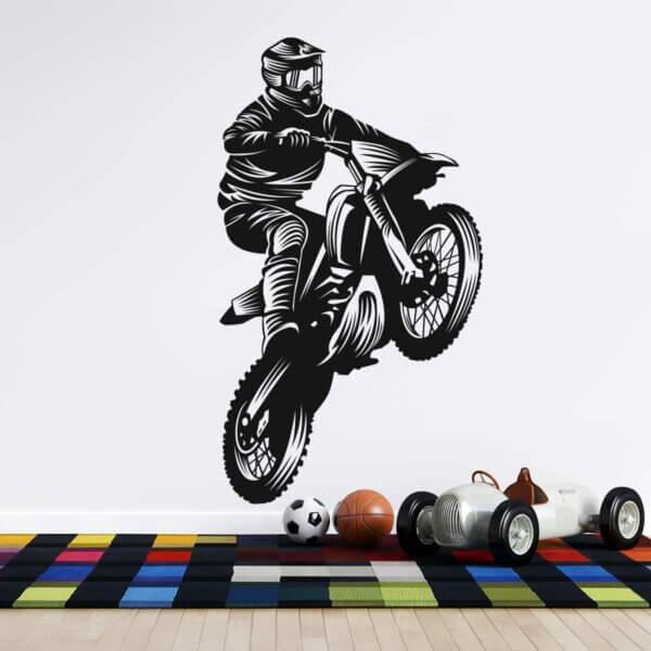 Vinilo Decorativo Deportivo Motocross