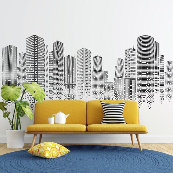 Vinilo Decorativo Skyscrapers