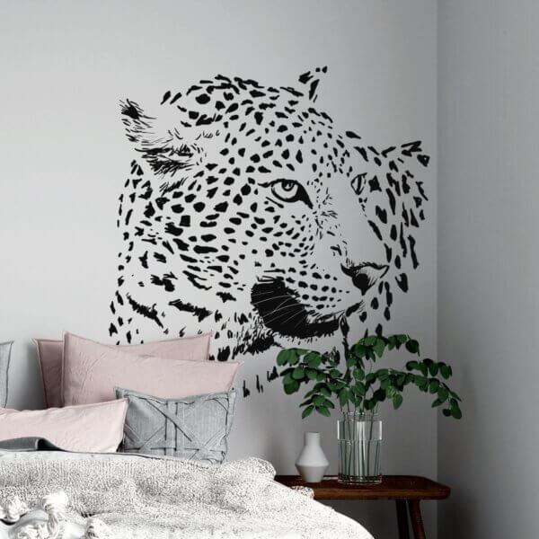 Vinilo Decorativo de Leopardo