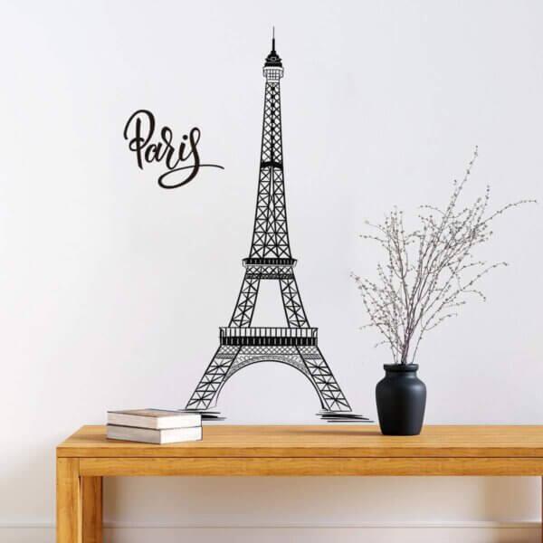 Vinilo Decorativo de la Torre Eiffel