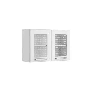 Alacena puertas de vidrio 80 Cm Gourmet Blanco Ebani Colombia tienda online de decoración y mobiliario Bertolini