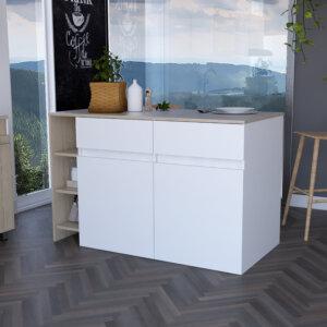 BBR 6103 Barra Bari_rovere+blanco_abierto Ebani Colombia tienda online de decoración y mobiliario RTA