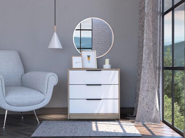 CRB 6106 Comoda kaia 3 cajones - Cerrada Ebani Colombia tienda online de decoración y mobiliario RTA