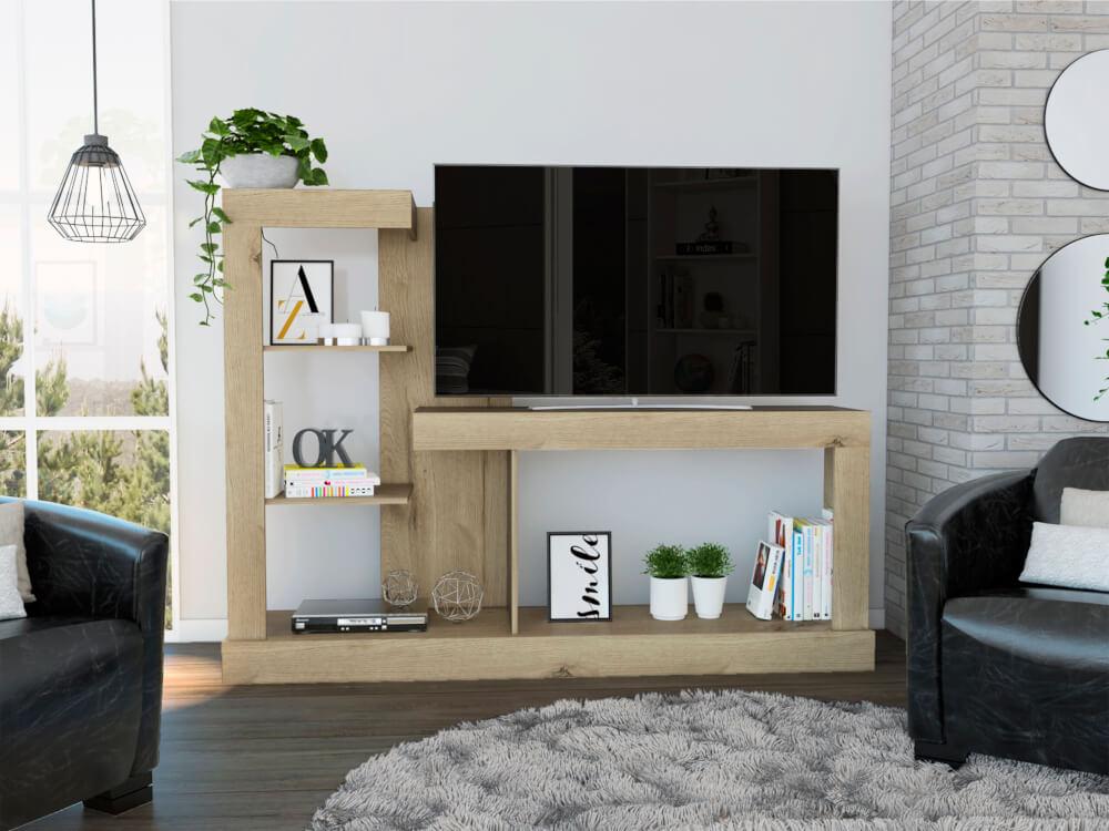 Centro de entretenimiento o mesa para Tv Minotti duna Ebani Colombia tienda online de decoración y mobiliario RTA