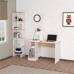 Combo escritorio Biblioteca Ragnar Ebani Colombia tienda online de decoración y mobiliario Maderkit