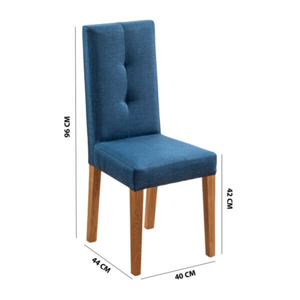Comedor 6 Puestos Yami Azul Ebani Colombia tienda online de decoración y mobiliario Nihao