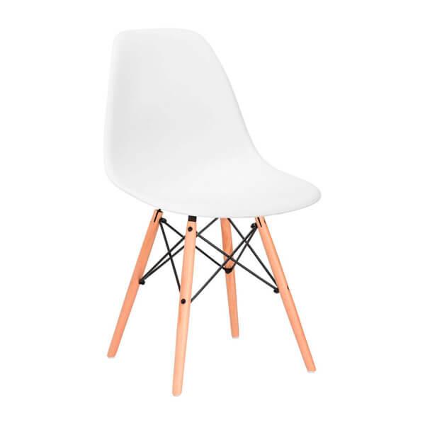 Comedor Eames 4 Puestos Blanco Ebani Colombia tienda online de decoración y mobiliario Nihao