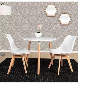 Comedor Lucian 2 Puestos Blanco Ebani Colombia tienda online de decoración y mobiliario Nihao