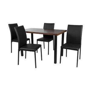 Comedor Polo Negro Ebani Colombia tienda online de decoración y mobiliario Nihao