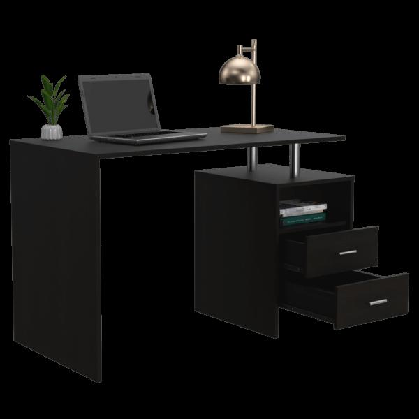 Escritorio moderno para pc o estudio Sampdoria wengue Ebani Colombia tienda online de decoración y mobiliario RTA