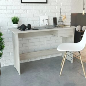 Escritorio moderno para pc o estudio con puerta Ebani Colombia tienda online de decoración y mobiliario Maderkit