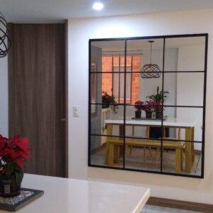 Espejo Decorativo Gocta Ebani Colombia tienda online de decoración y mobiliario Mecano