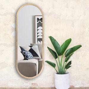 Espejo Decorativo ovalo Ebani Colombia tienda online de decoración y mobiliario Cozzy