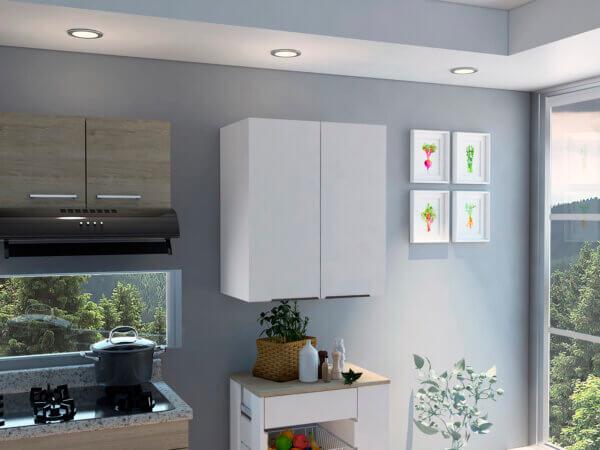 Gabinete auxiliar Nantes blanco Ebani Colombia tienda online de decoración y mobiliario RTA