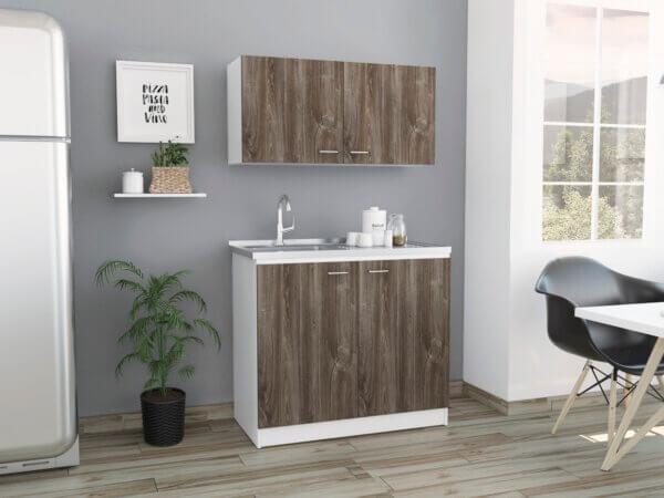 KLE2484 Kit Lavaplatos Napoles_Siena blanco Ambientada Izquierda Ebani Colombia tienda online de decoración y mobiliario RTA