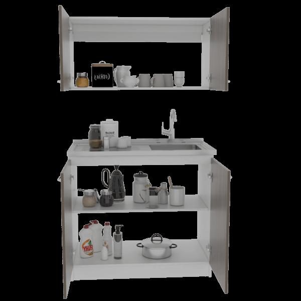 KLE2737 Kit Lavaplatos Napoles_Siena blanco Ambientada DERECHA Ebani Colombia tienda online de decoración y mobiliario RTA