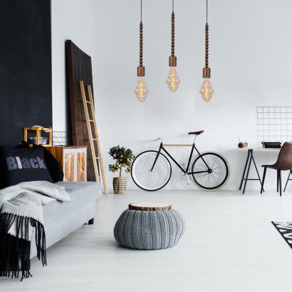 Lampara Colgante legna Ebani Colombia tienda online de decoración y mobiliario Lienxo
