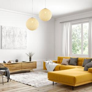 Lampara Colgante vimini Ebani Colombia tienda online de decoración y mobiliario Lienxo