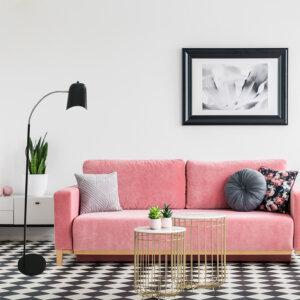 Lampara de piso cuello de cisne casey negra Ebani Colombia tienda online de decoración y mobiliario Lienxo