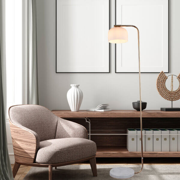 Lampara de piso curie Ebani Colombia tienda online de decoración y mobiliario Lienxo
