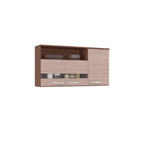 Mueble Superior Cocina 120 cm 3 Puertas con Vidrio Ebani Colombia tienda online de decoración y mobiliario Aki Voy