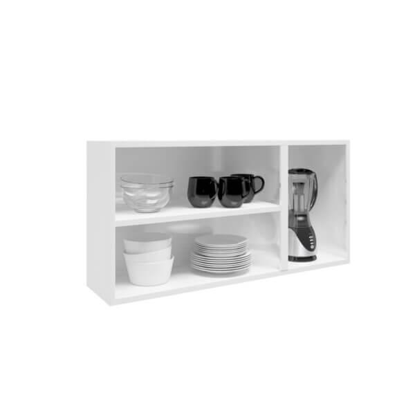 Mueble Superior Triple Puertas de Acero -Blanco Ebani Colombia tienda online de decoración y mobiliario Bertolini
