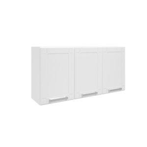 Mueble Superior Triple Puertas de Acero multipla-Blanco Ebani Colombia tienda online de decoración y mobiliario Bertolini