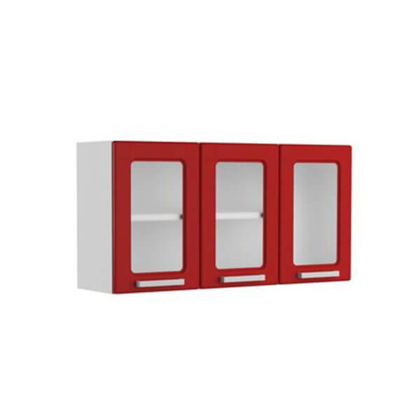 Mueble de Cocina Superior Multipla en Acero - Rojo Ebani Colombia tienda online de decoración y mobiliario Bertolini