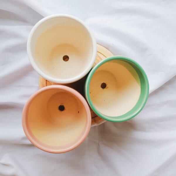 Matera de mesa en cerámica BRISA
