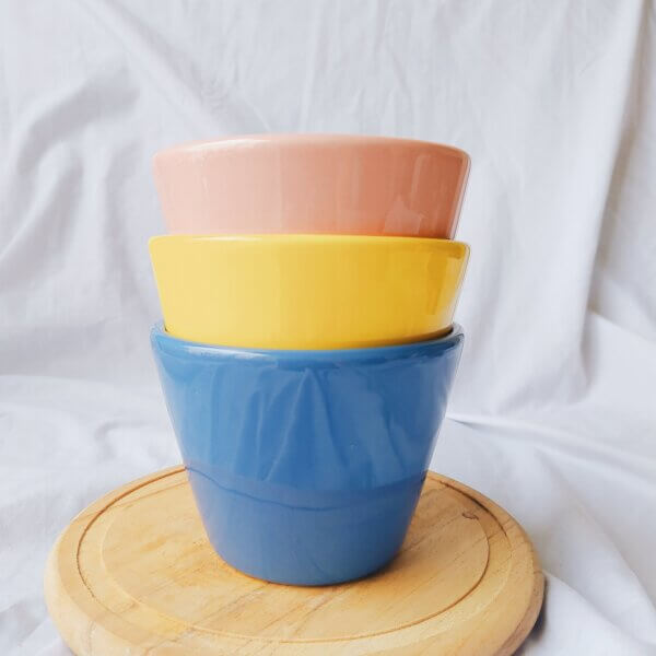 Matera de mesa en cerámica ECLECTIC