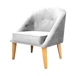 Poltrona Artemis Gris Ebani Colombia tienda online de decoración y mobiliario Nihao