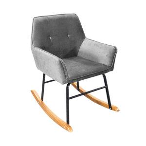 Poltrona Aura Gris Ebani Colombia tienda online de decoración y mobiliario Nihao