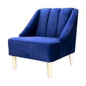 Poltrona Clorina Azul Ebani Colombia tienda online de decoración y mobiliario Nihao