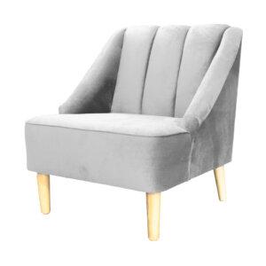 Poltrona Clorina Gris Ebani Colombia tienda online de decoración y mobiliario Nihao