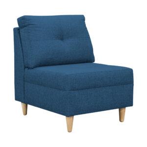 Poltrona Lua Azul Ebani Colombia tienda online de decoración y mobiliario Nihao