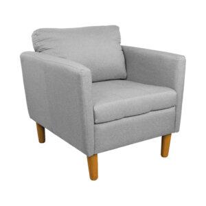 Poltrona Nusa Gris Ebani Colombia tienda online de decoración y mobiliario Nihao