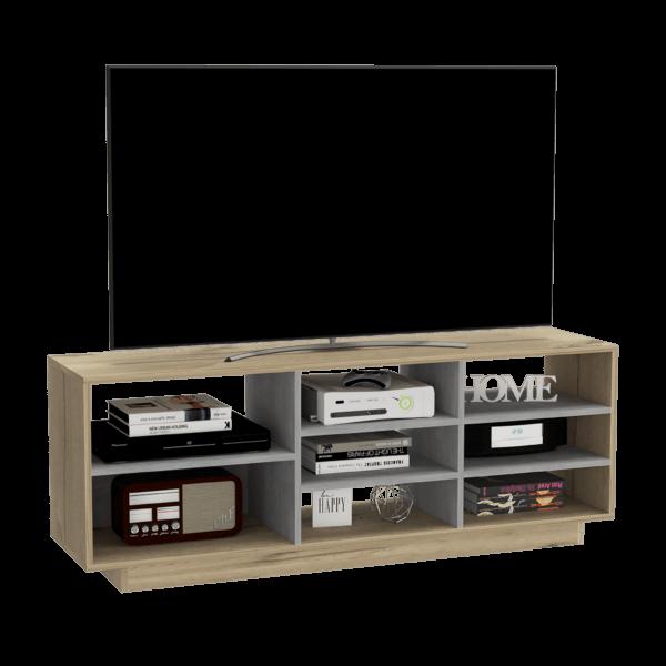 RDT 6108 Rack Tv Vedra_Duna+Cemento Ebani Colombia tienda online de decoración y mobiliario RTA