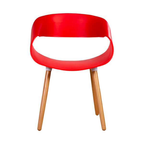 Silla Ilitía Roja Ebani Colombia tienda online de decoración y mobiliario Nihao