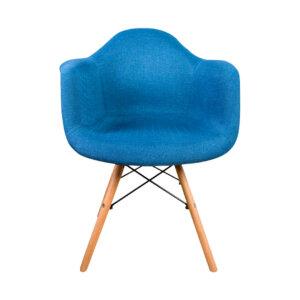 Silla tapizada Eirene Azul Ebani Colombia tienda online de decoración y mobiliario Nihao