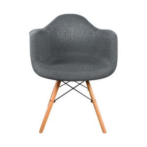 Silla tapizada Eirene Gris Ebani Colombia tienda online de decoración y mobiliario Nihao