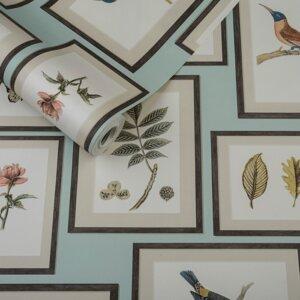 Vinilo Decorativo de Pájaros al Atardecer