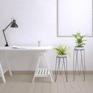 Matera de mesa o de piso Vero color antibronce
