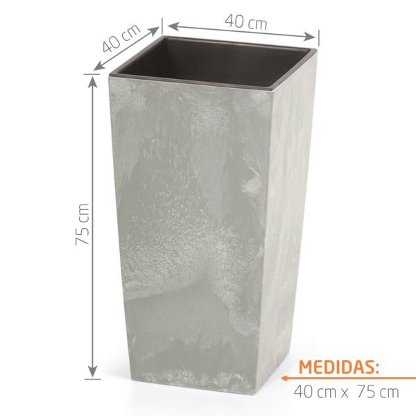 Matera de Piso Urbi Beton 75 cm Concreto