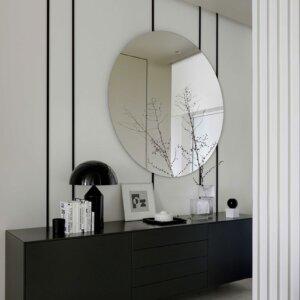 Espejo de Pared «ANDREA» Redondo 60 cm ø
