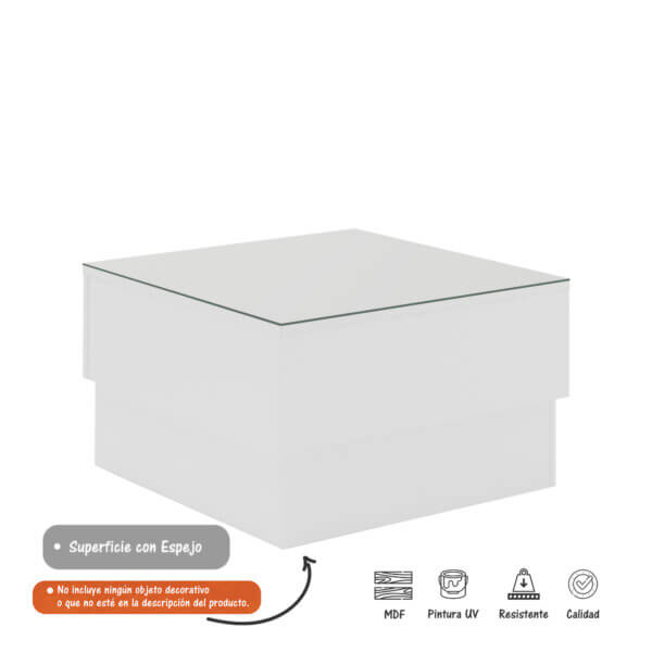 Mesa De Centro Parati – Blanco